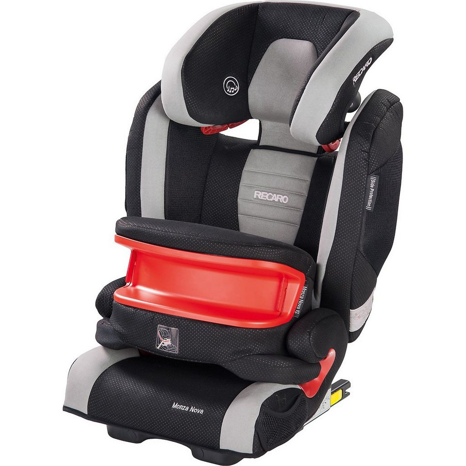 RECARO Auto-Kindersitz Monza Nova IS Seatfix, Graphite in mehrfarbig