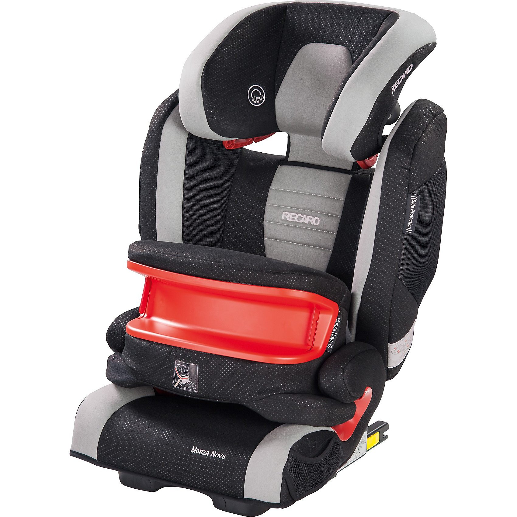 RECARO Auto-Kindersitz Monza Nova IS Seatfix, Graphite