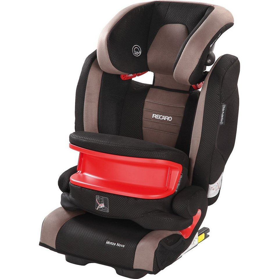 RECARO Auto-Kindersitz Monza Nova IS Seatfix, Mocca in braun