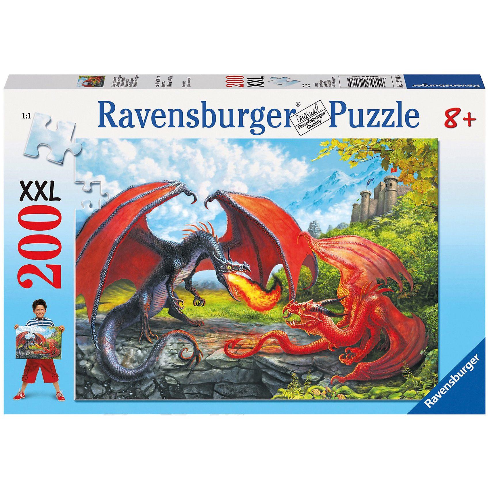 Ravensburger Kampf der Drachen - 200 Teile XXL Puzzle