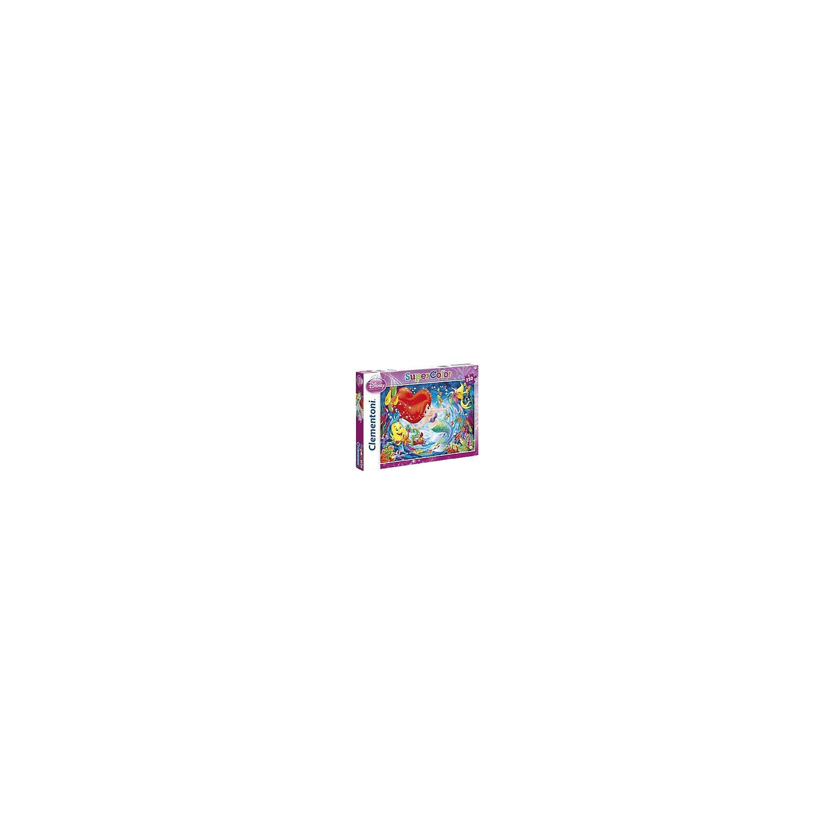 Clementoni Puzzle 104 Teile - Arielle: Die Tiefsee