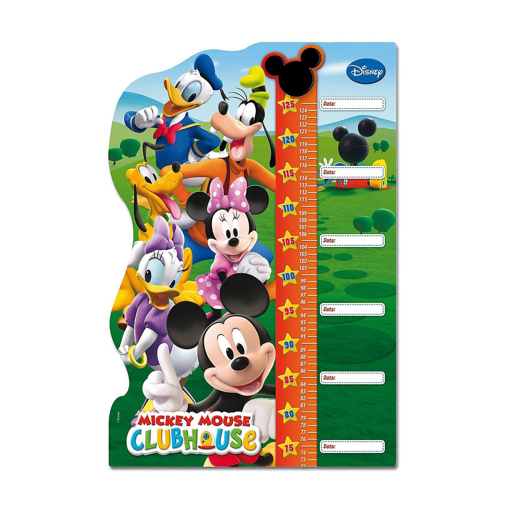 Clementoni Double Fun Puzzle als Messlatte - 30 Teile Maxi Mickey Mouse