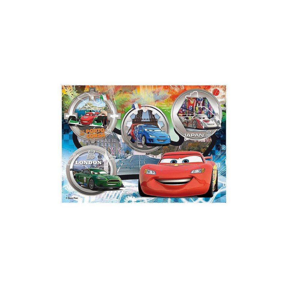 Clementoni Maxi Puzzle 24 Teile - Cars: The World Gran Prix Race