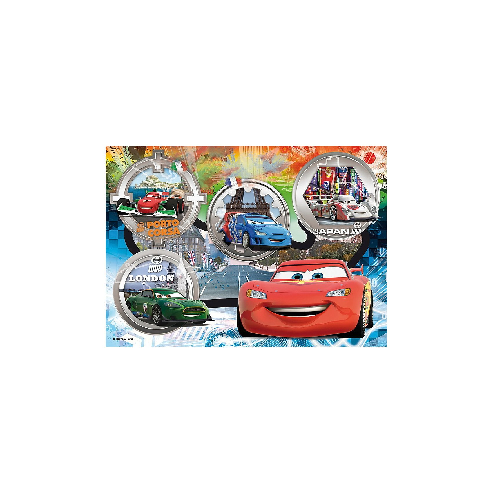 Clementoni Maxi Puzzle 24 Teile - Cars: The World Gran Prix Race