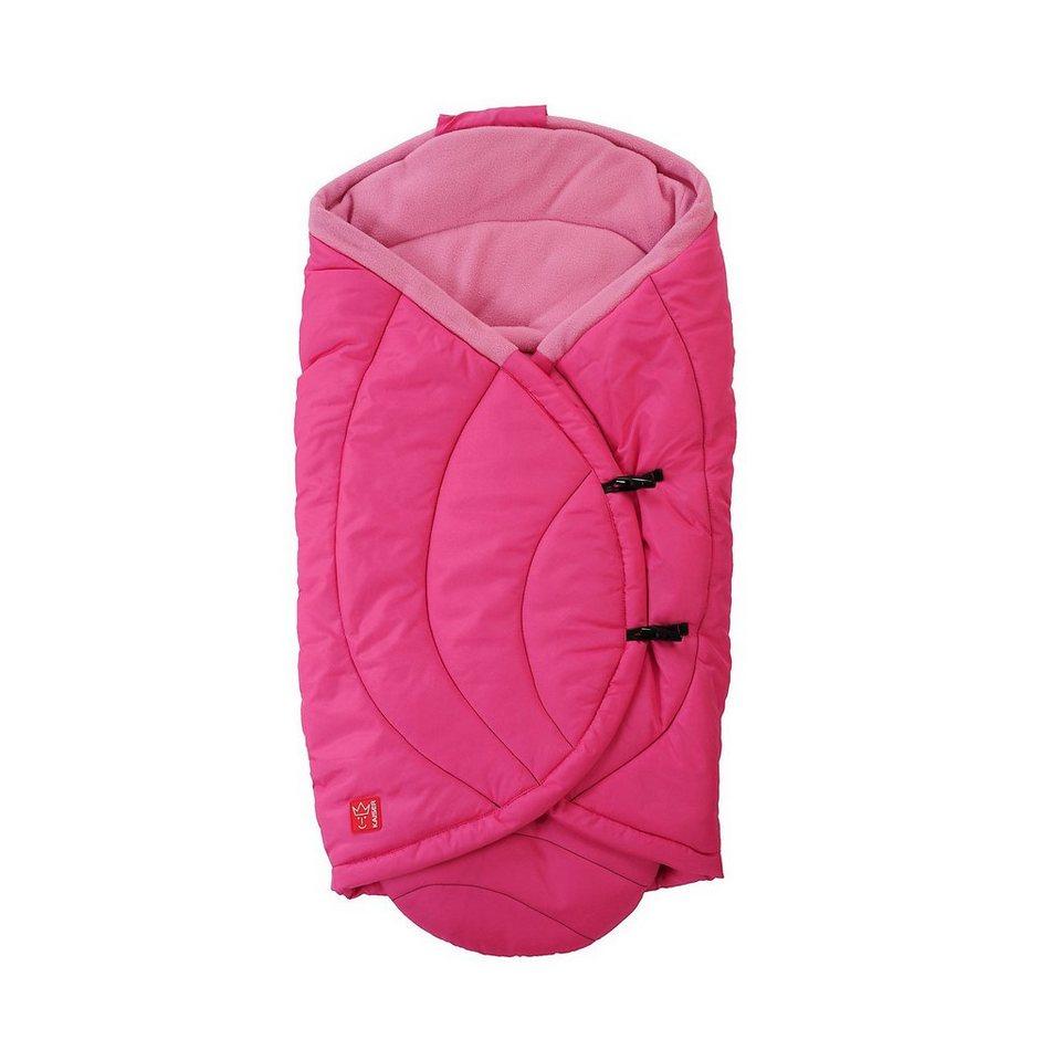 Kaiser Einschlagdecke CooCoon für Babyschale und Tragetasche, pink in pink