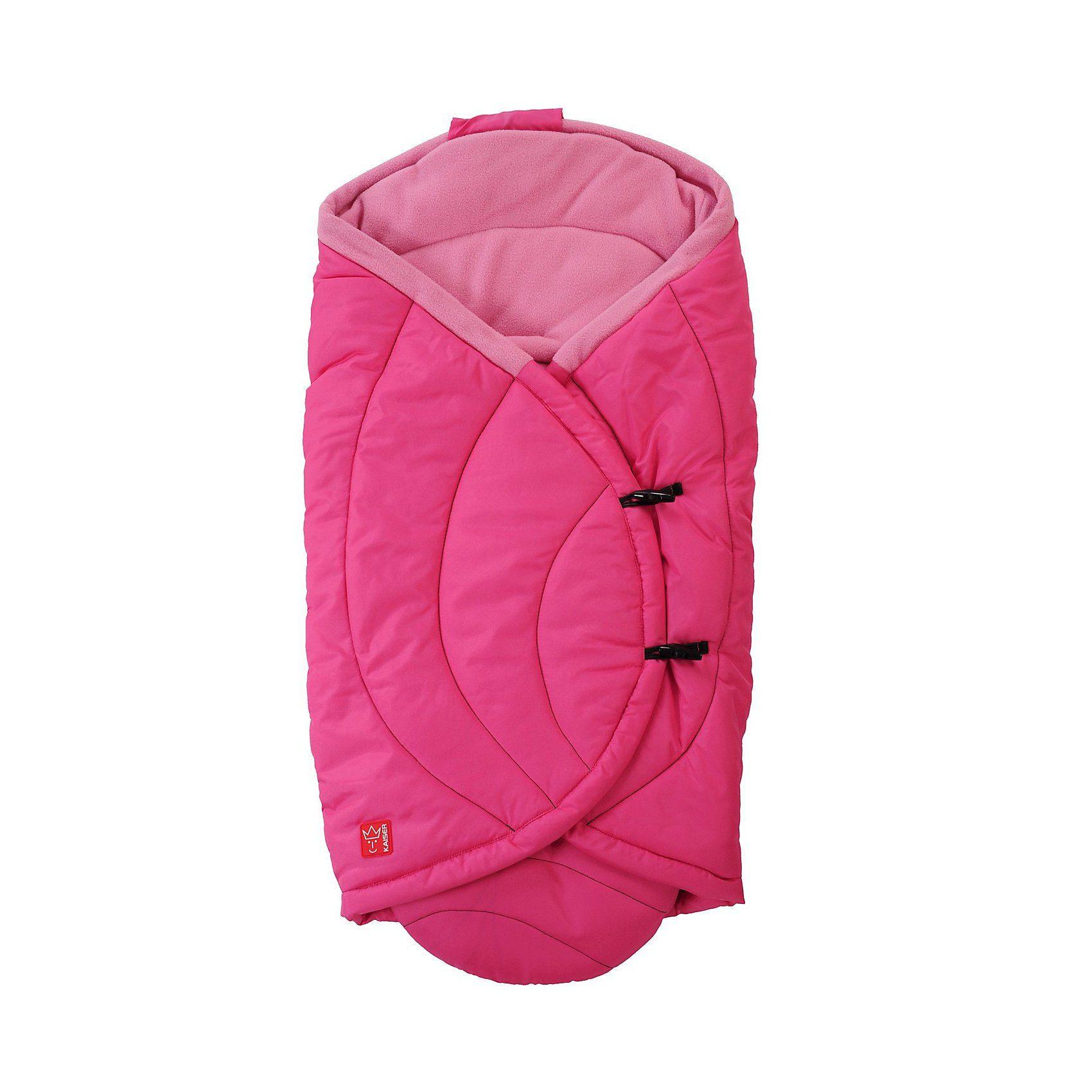 Kaiser Einschlagdecke CooCoon für Babyschale und Tragetasche, pink