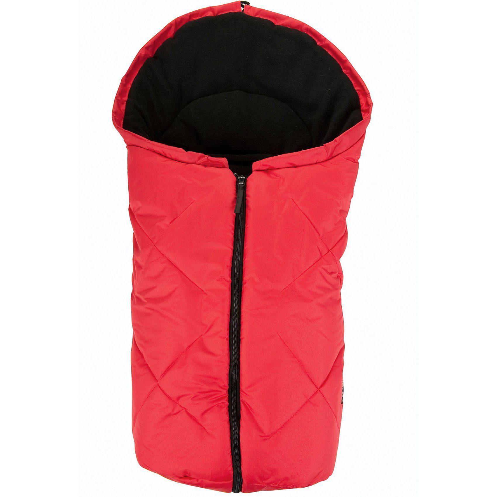 Kaiser Fußsack Kuschelsäckchen für Babyschale , rot