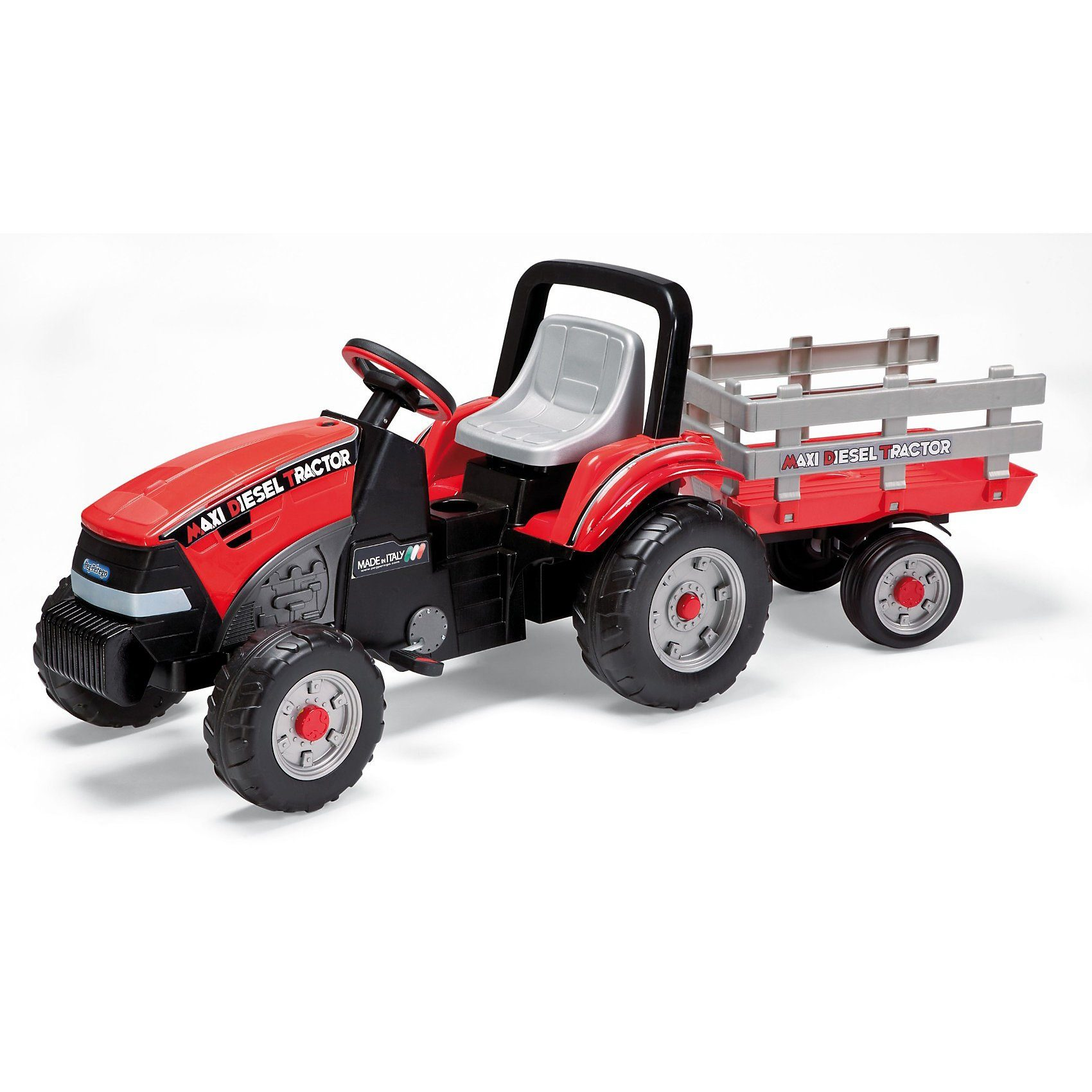 Peg Perego Tretfahrzeug Traktor mit Anhänger