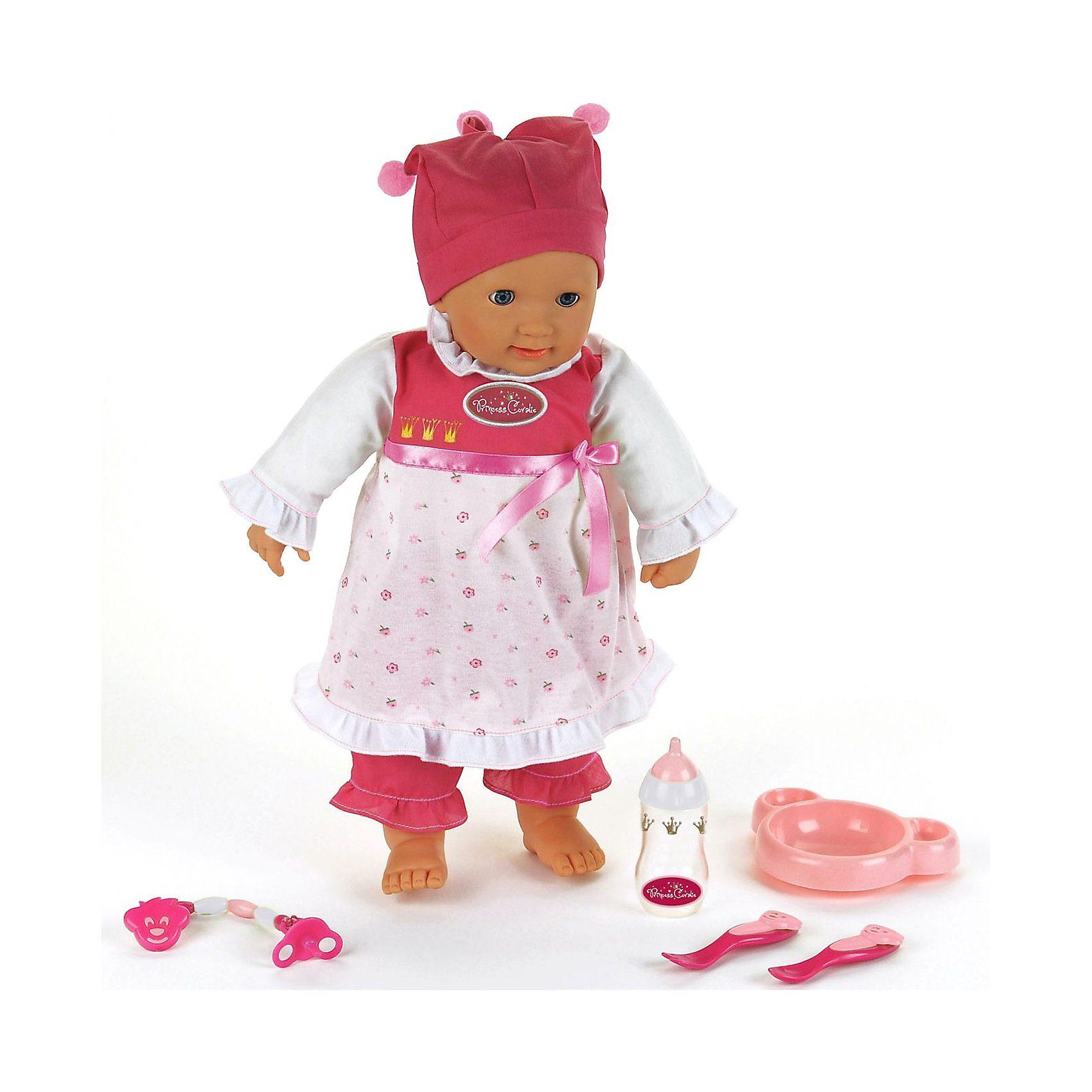 Klein Princess Coralie interaktive Babypuppe, 46 cm