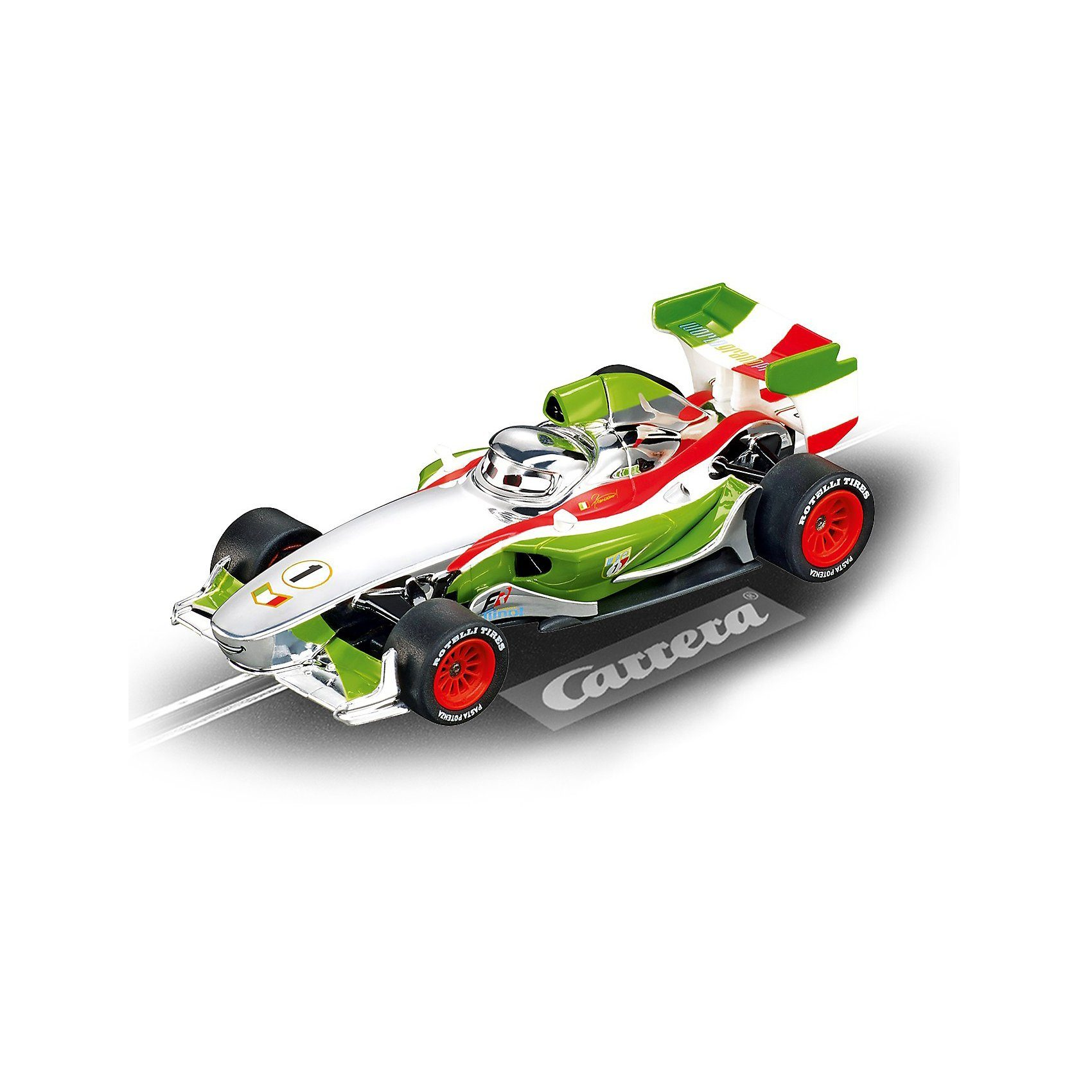Carrera GO!!! 61292 Silver Francesco Bernoulli Cars