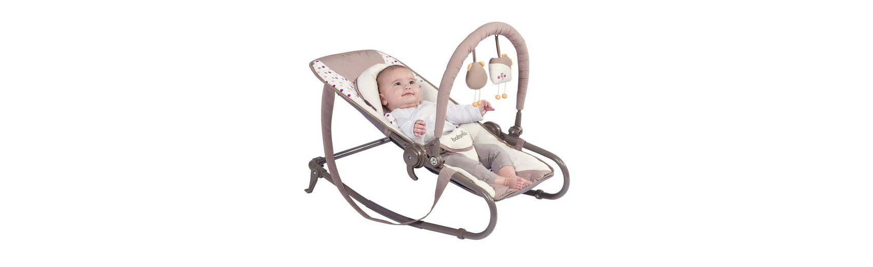 Babymoov Wippe Bubble, braun/aqua
