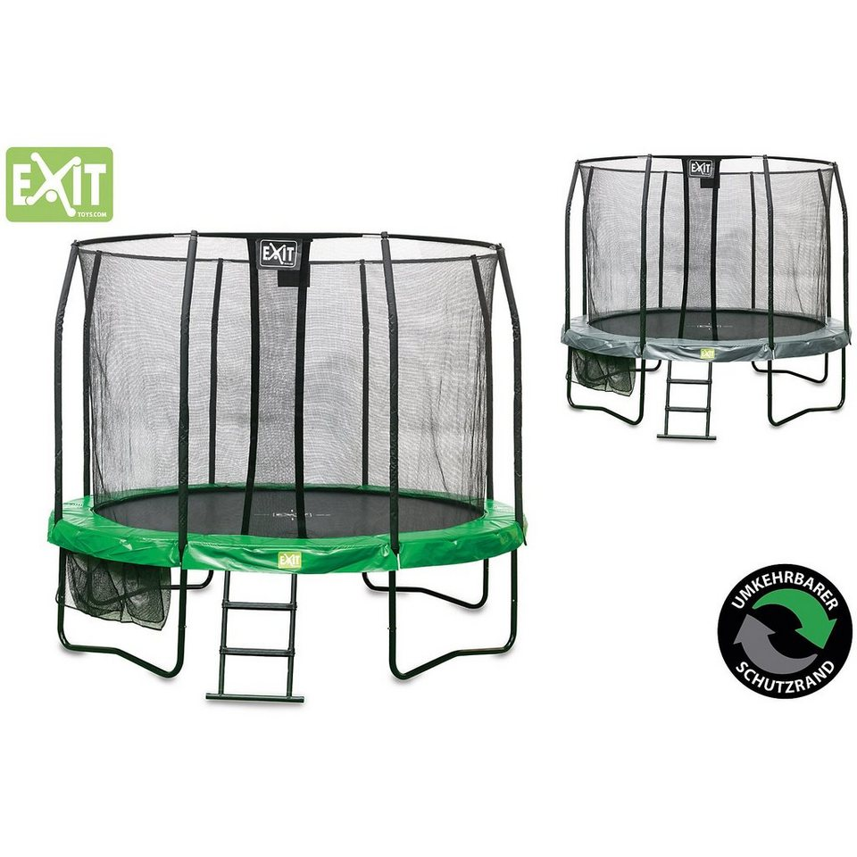 EXIT Trampolin JumpArenA , 427 cm in grün