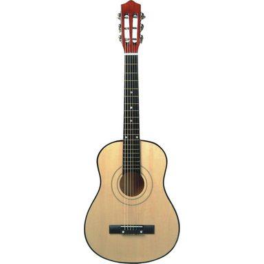 Eitech Gitarre professionell - natur 76 cm, inkl. Tasche und Gitarr
