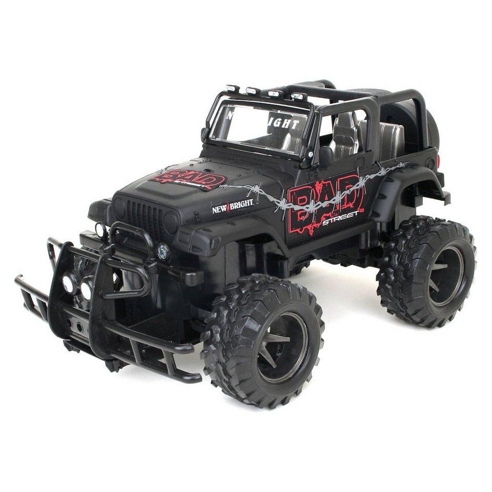 New Bright RC - Bad Street Jeep Wrangler 1:15
