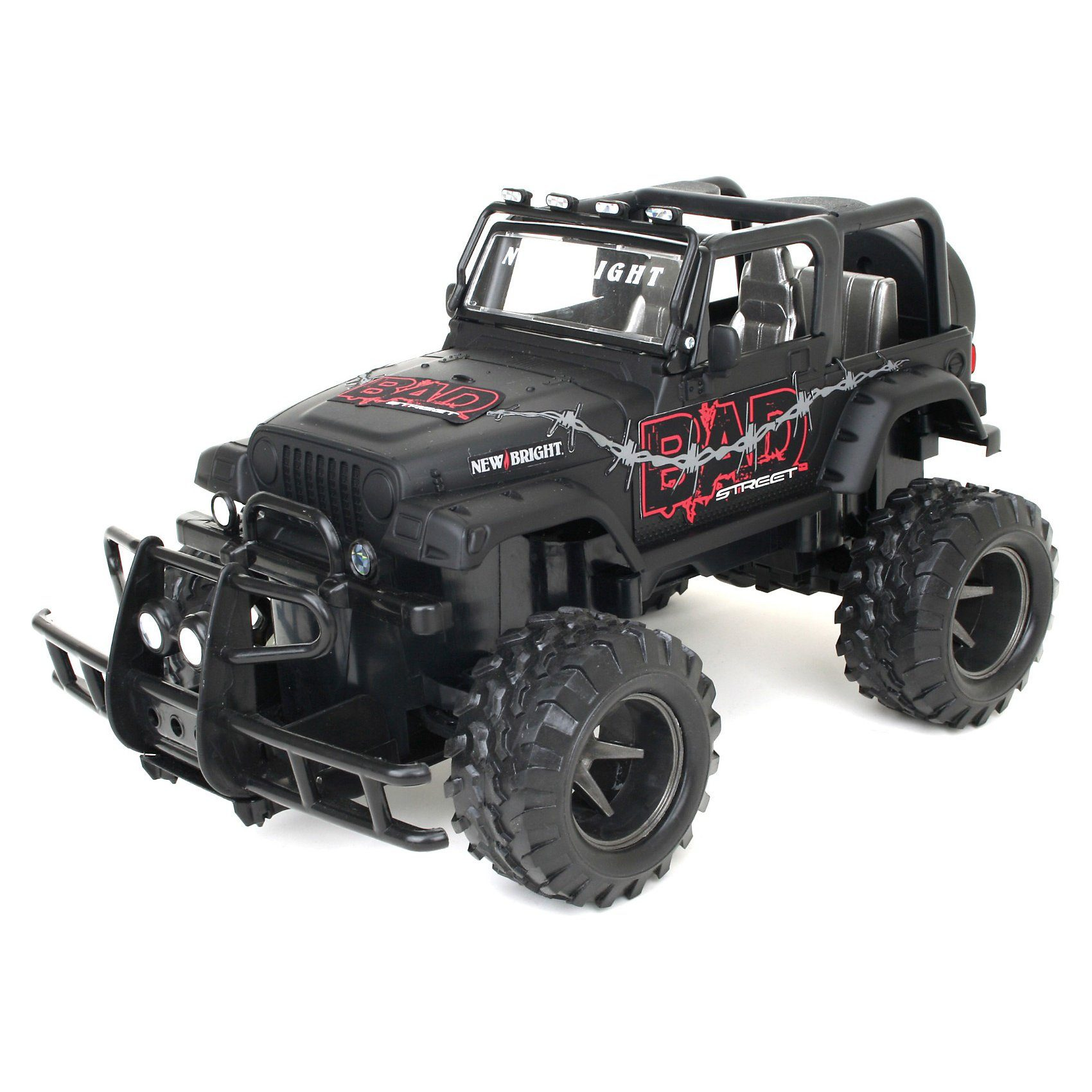 New Bright RC - Bad Street Jeep Wrangler 1:15
