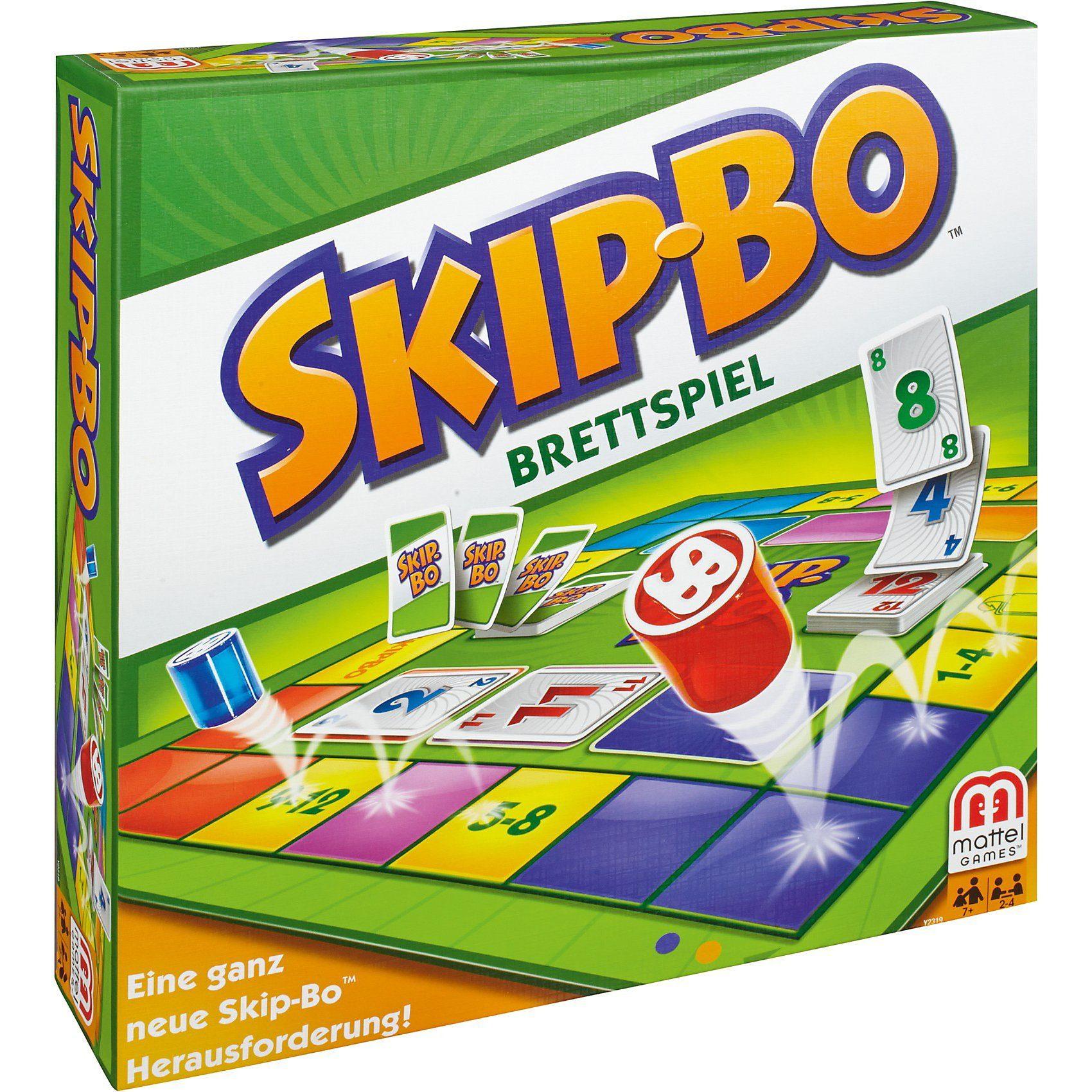 Mattel Skip-Bo Brettspiel