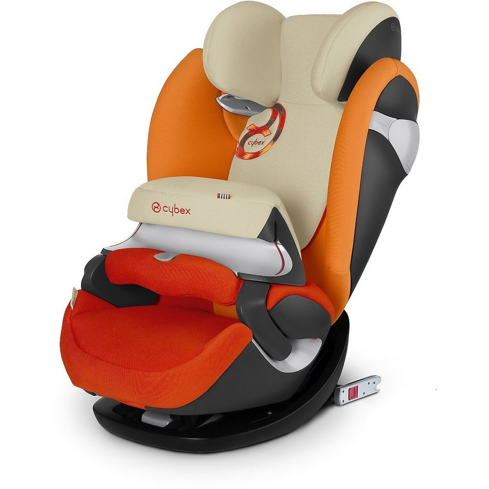 Cybex Auto-Kindersitz Pallas M-Fix, Gold-Line, Autumn Gold, 2016 in rot
