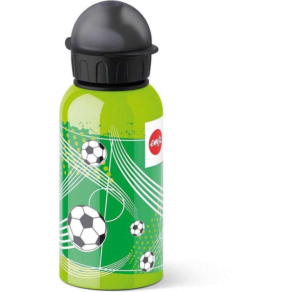 Emsa Trinkflasche Soccer, 400 ml in grün