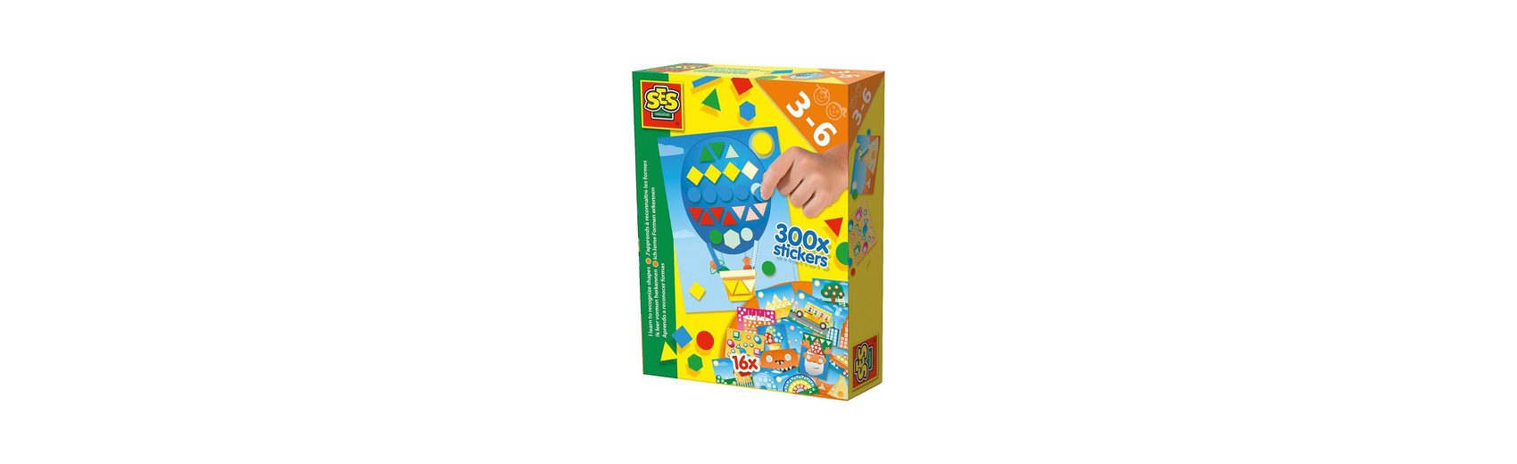 SES Creative 14839 Lernset Ich lerne Farben & Formen