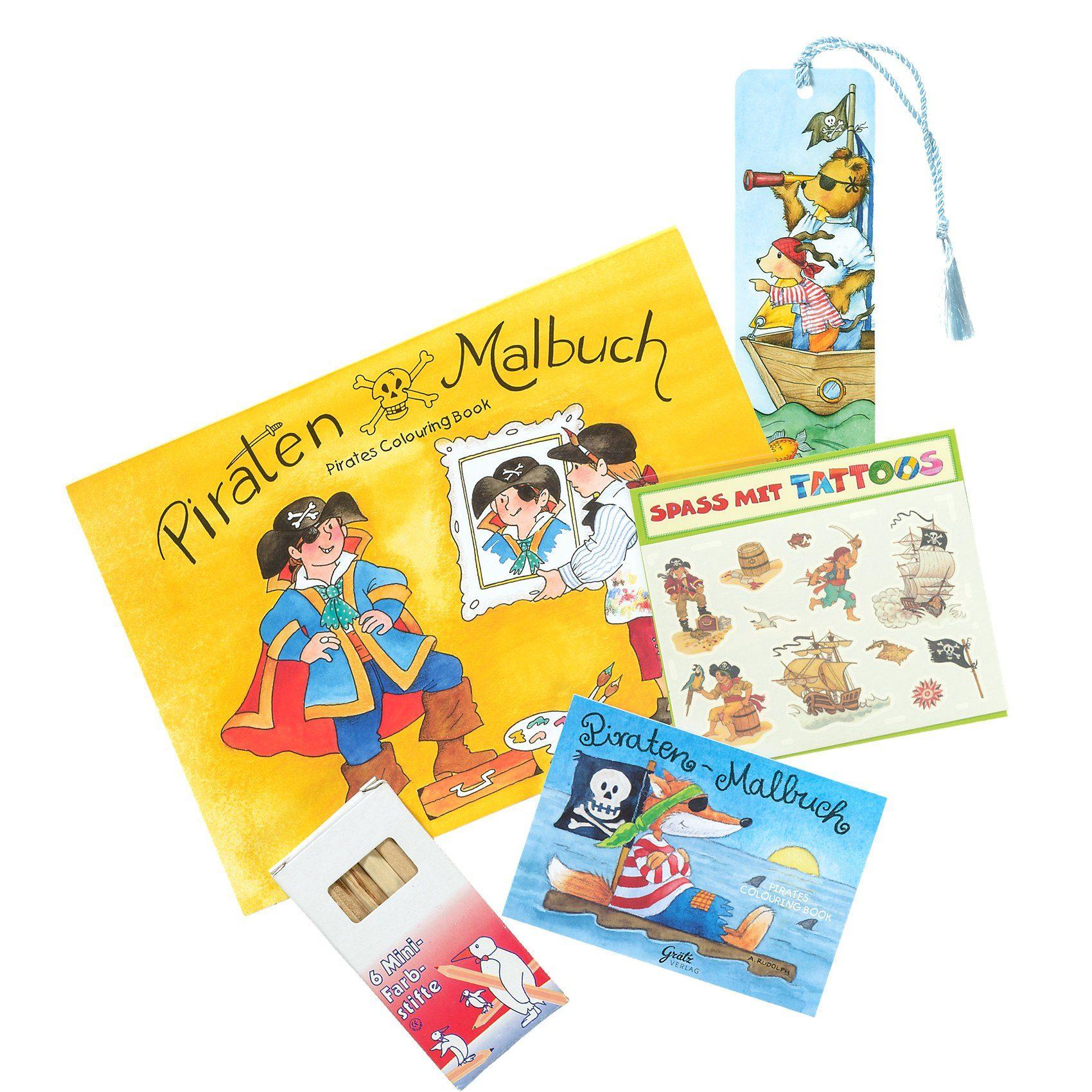 Grätz Verlag Kleines Geschenkset Jungen, 10-tlg.