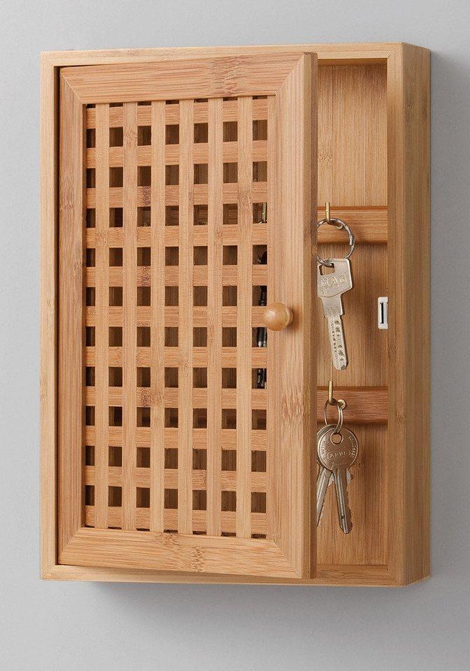 Schlüsselkasten »Bamboo«, 19x6x27 cm in natur