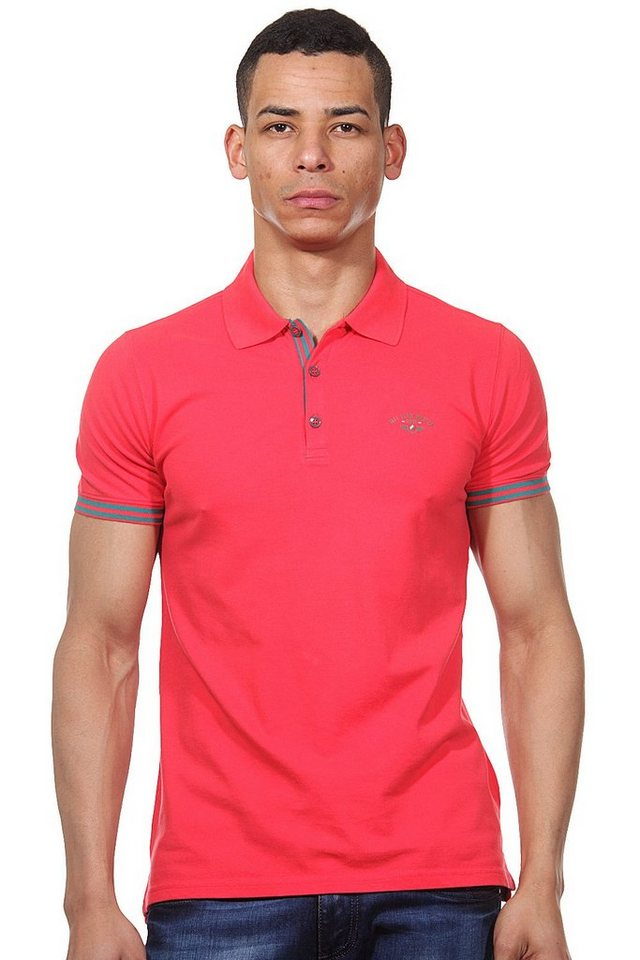 MCL Poloshirt slim fit in himbeere