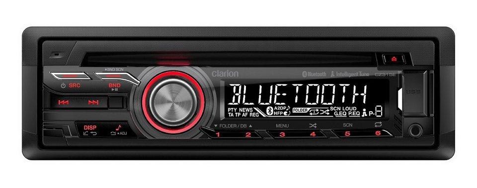 Clarion 1-DIN CD-Autoradio mit Bluetooth »CZ315E« in schwarz