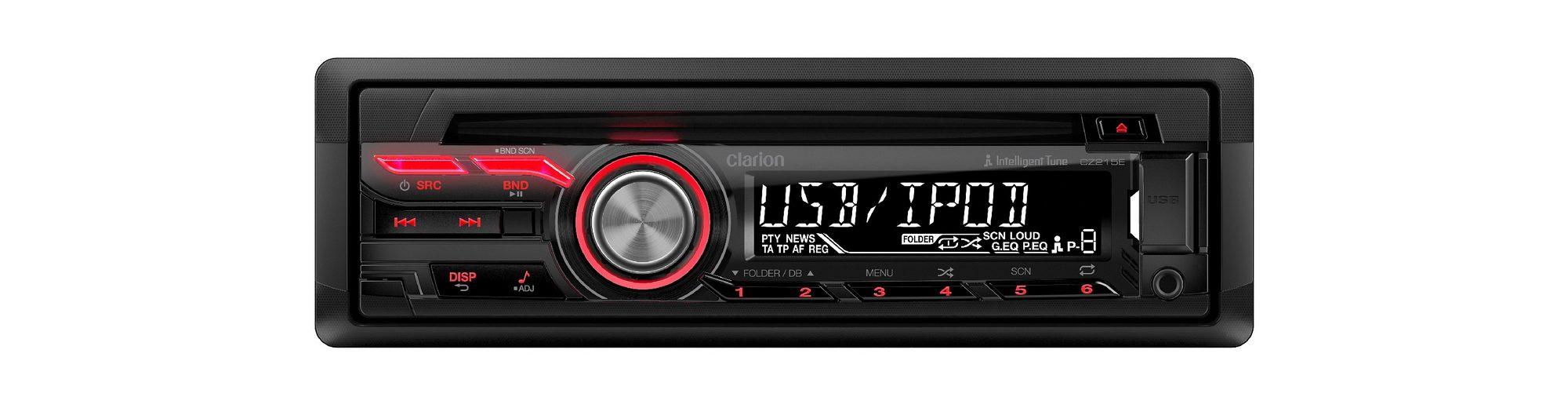 Clarion 1-DIN CD/USB-Receiver »CZ215E«