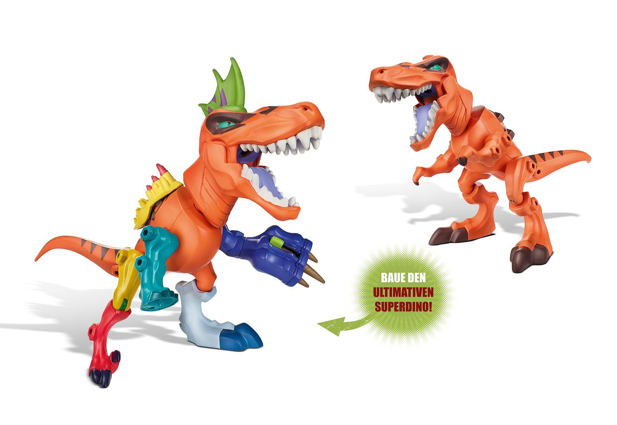 Dinosaurier, »Jurassic World - Hero Mashers - T-Rex Dino Pack«, Hasbro