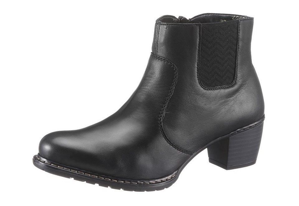 Rieker Stiefelette in schwarz