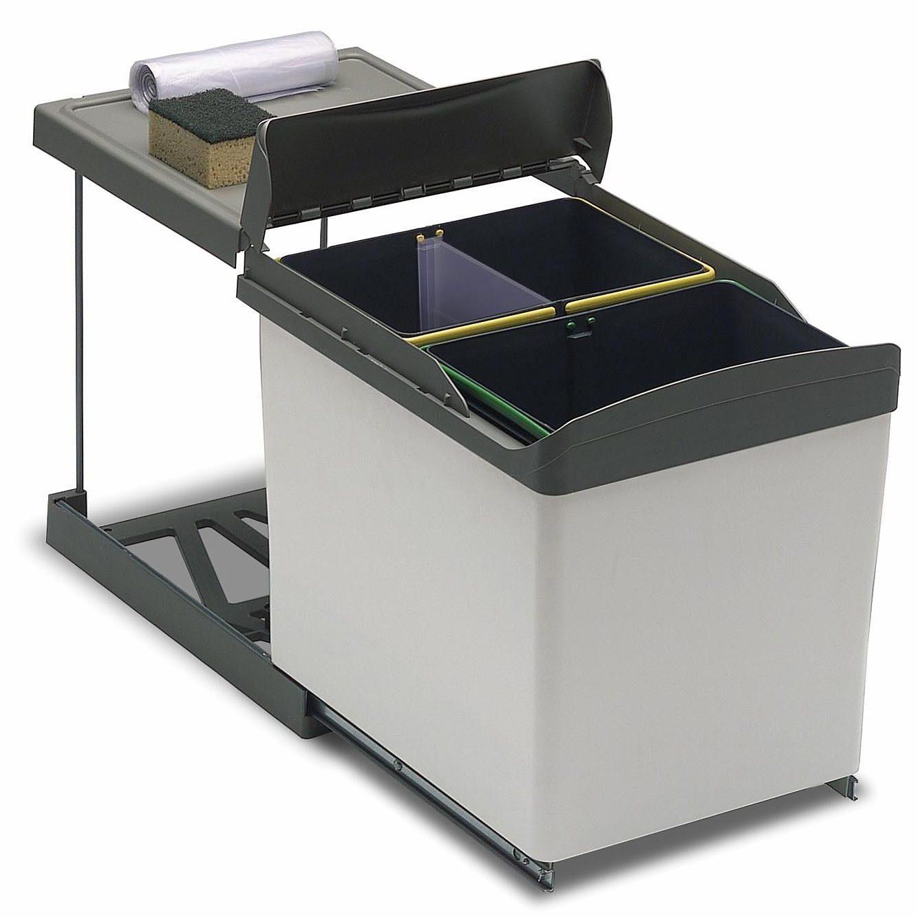 3-Fach Abfallsammler