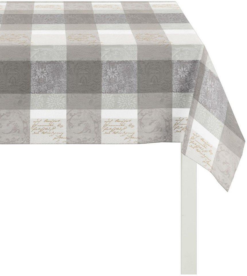 tischdecke apelt 3042 zeitlos elegantes jacquard. Black Bedroom Furniture Sets. Home Design Ideas