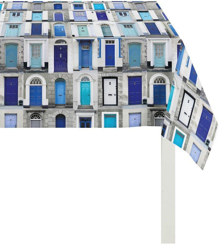 Mitteldecke, Apelt, »3046 Fenster« in blau