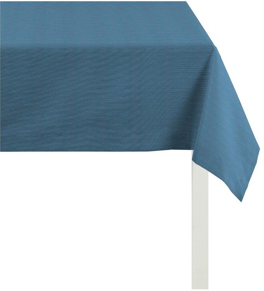 Mitteldecke, Apelt, »TIZIAN Uni Rips« in blau