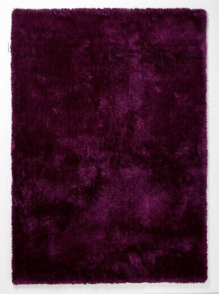 Teppich, Lars Contzen, »colourcourage«, maschinentuft, Wunschmaß in aubergine