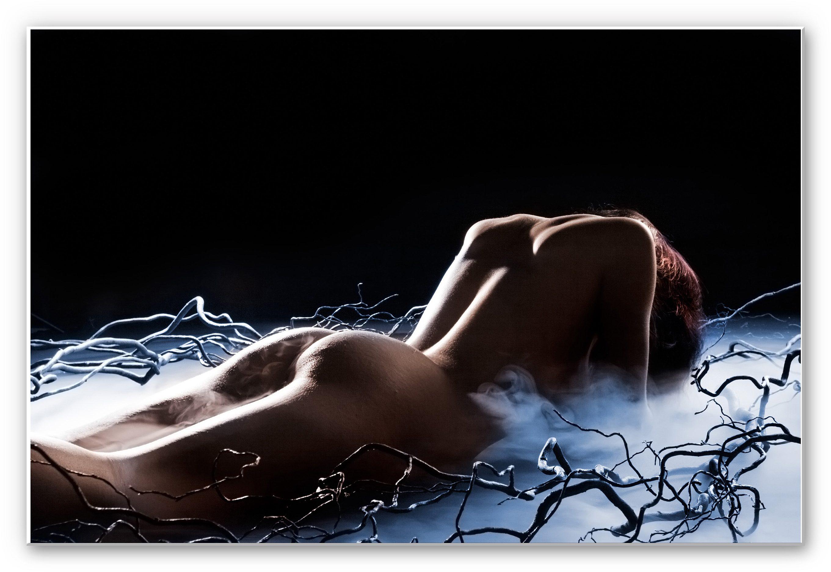 Hartschaum Wandbild, Home affaire , »Die dunkle Versuchung«, 100/70 cm