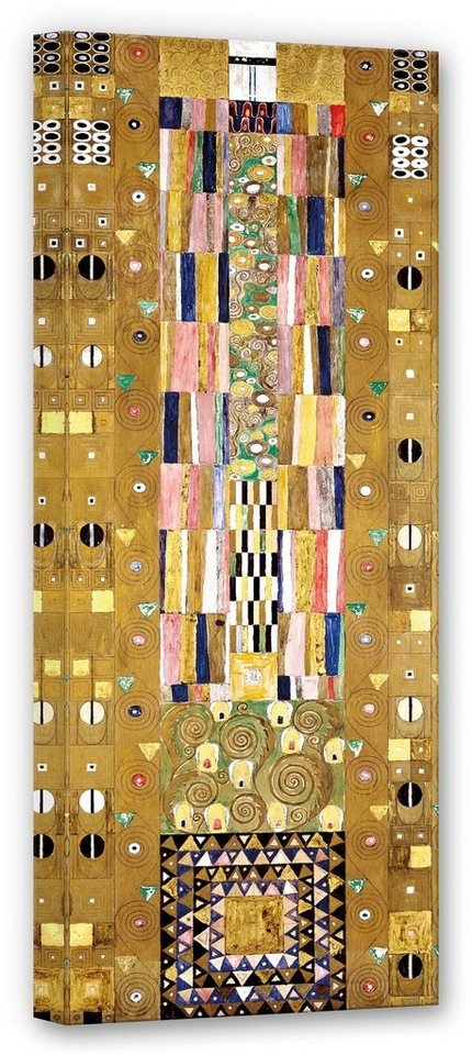 Premium collection by Home affaire Leinwandbild »Klimt - Werkvorlage für den Stocletfries«, 40/100 cm in Bunt