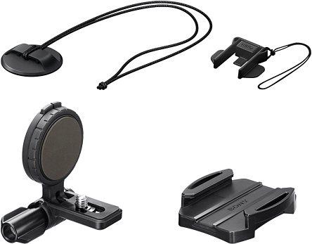 Sony VCT-HSM1 Helmhalterung Seitliche Helmhalterung in schwarz
