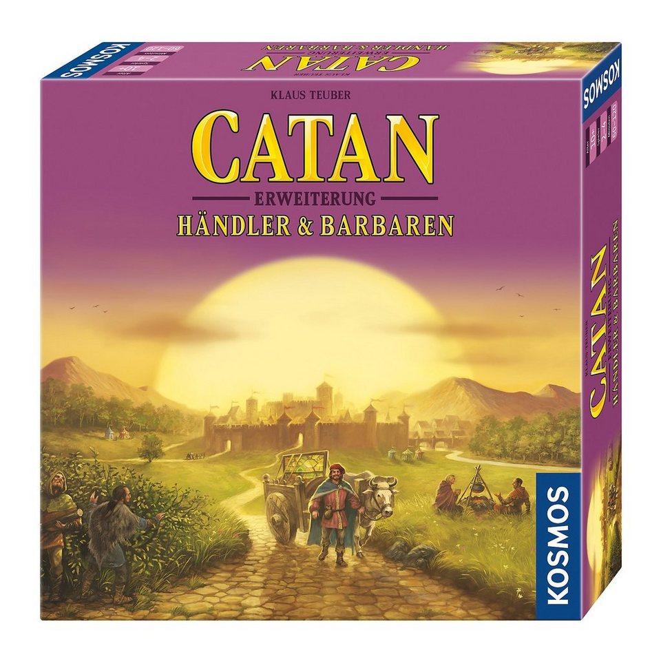 Kosmos Catan - Erweiterung Händler & Barbaren 3-4 Spieler