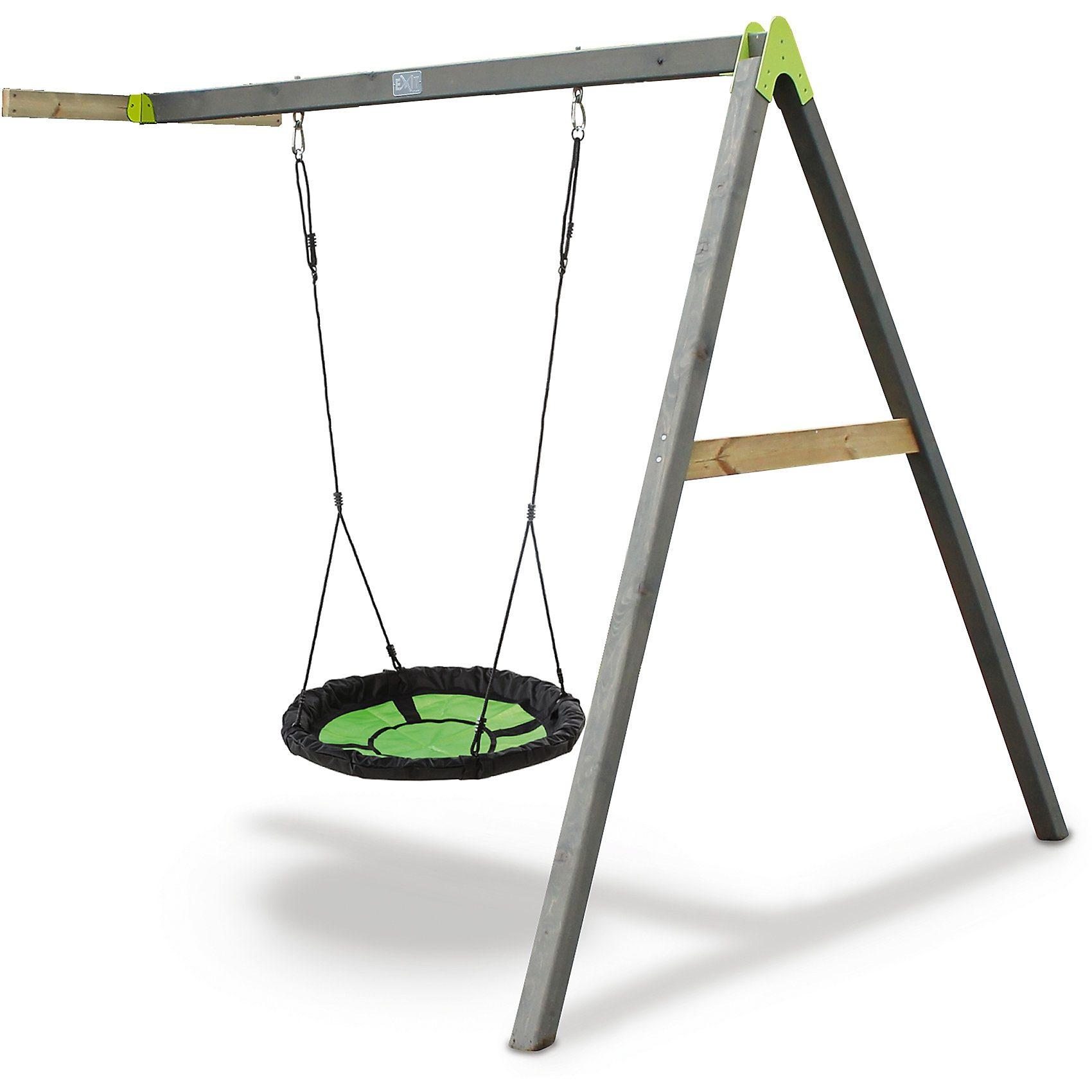 EXIT Schaukelanbau (Nestschaukel) für Spielturm Aksent