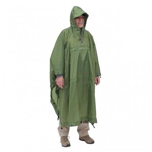 Exped Ponchos »Bivy-Poncho« in green