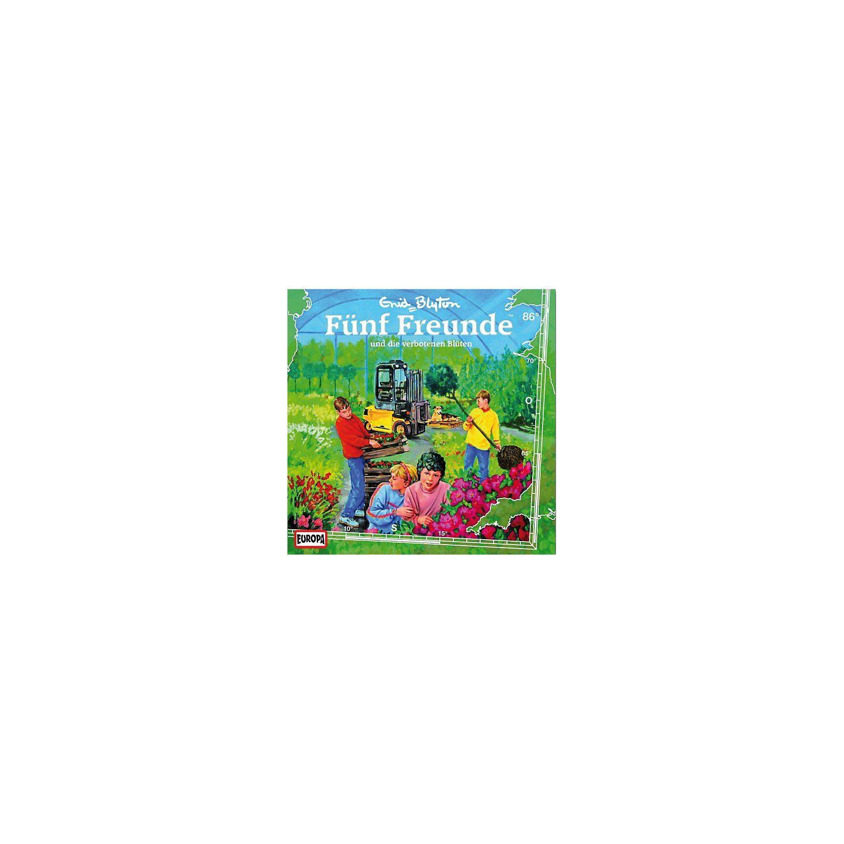 Sony CD Fünf Freunde 86- und die verbotenen Blüten