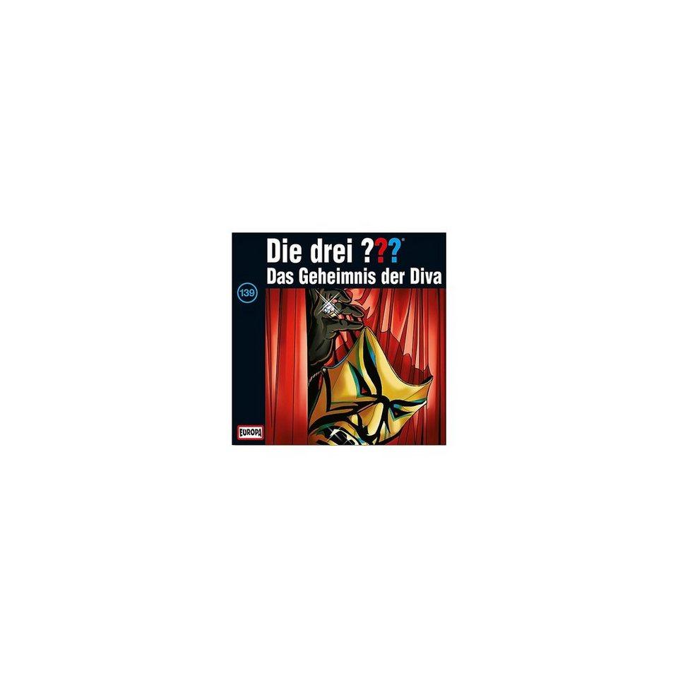 SONY BMG MUSIC CD Die Drei ??? 139 - Das Geheimnis der Diva