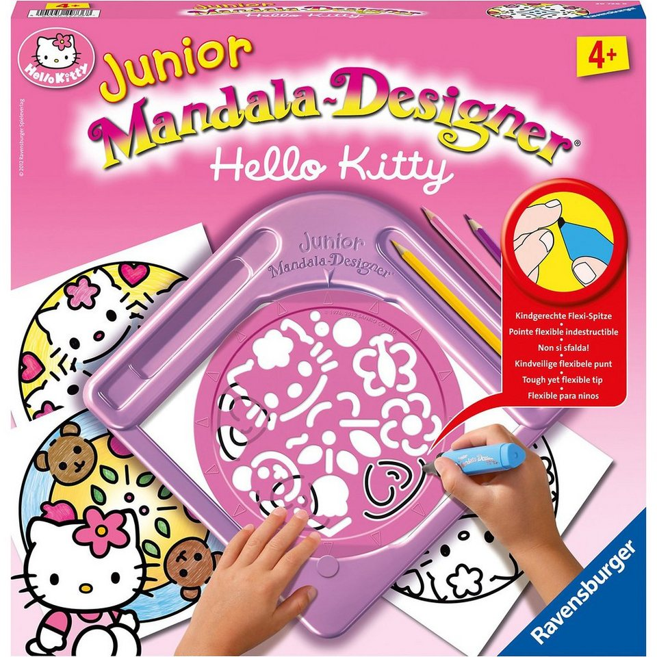 Ravensburger JUNIOR Mandala-Designer® Hello Kitty