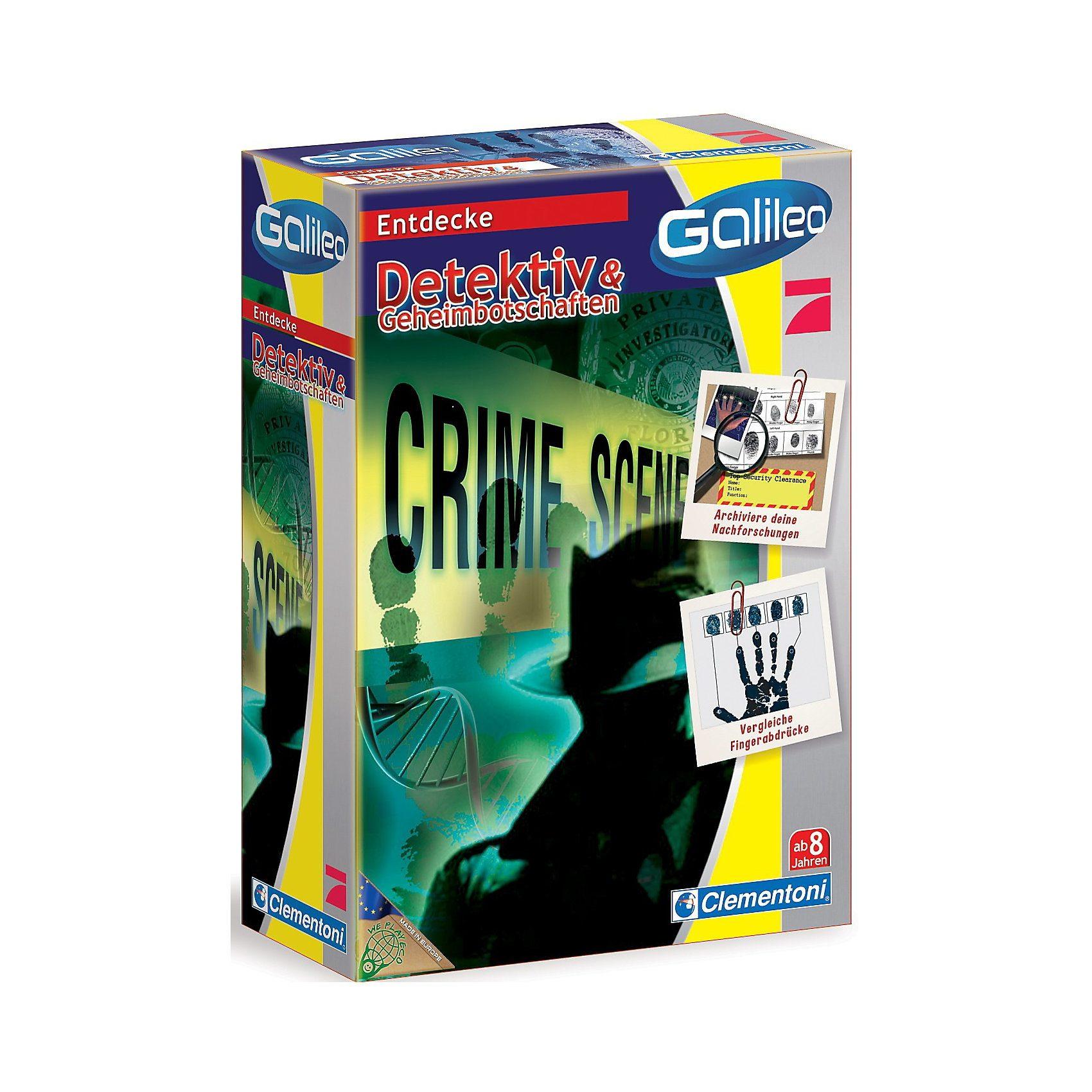 Clementoni Galileo - Detektiv & Geheimbotschaften