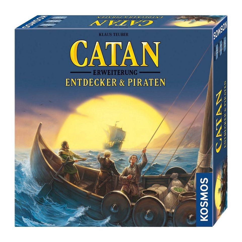 Kosmos Catan - Erweiterung Entdecker & Piraten 3-4 Spieler