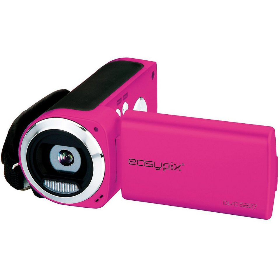"easypix Video Digitalkamera DVC5227-P ""Flash"" pink"
