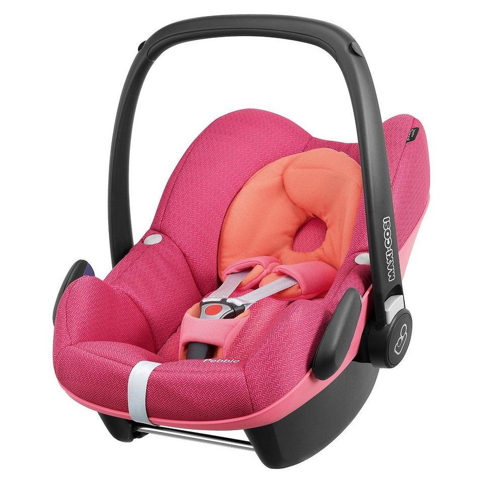 maxi cosi babyschale pebble spicy pink 2015 otto. Black Bedroom Furniture Sets. Home Design Ideas