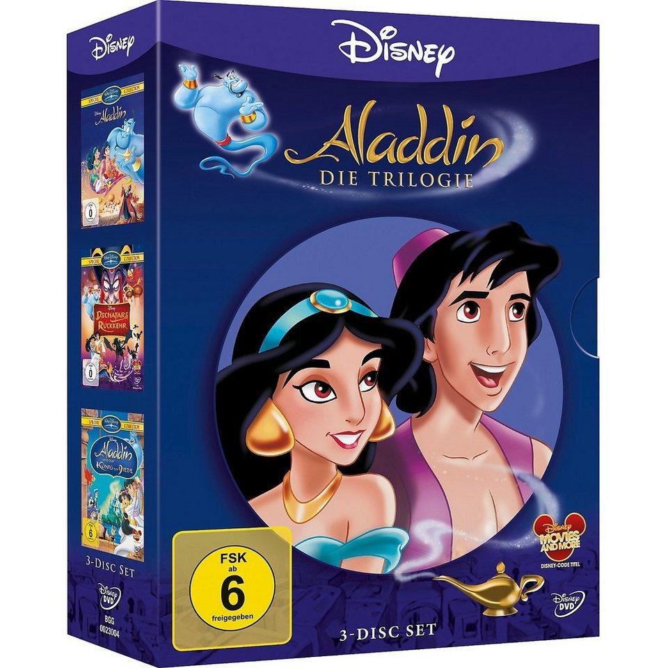 Disney DVD DVD Disney's - Aladdin 1-3 - Trilogie-Pack