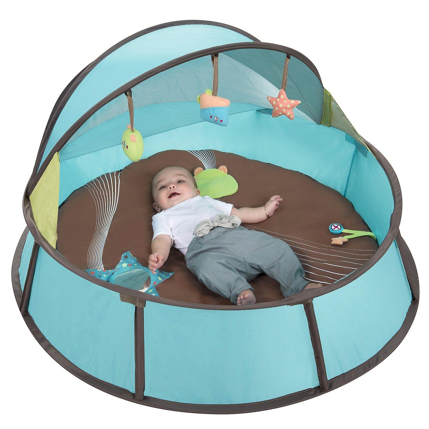 Babymoov Pop-up Babybett Babyni 2 in 1 mit UV-Schutz, blau